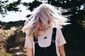 gråt hår