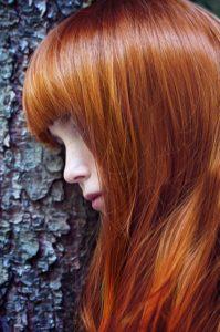 henna rødt hår